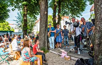 Am Giesinger Grünspitz wird einiges geboten (Foto: Green City e. V. / Jonas Nefzger)