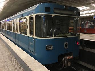 Auch die U-Bahn in München fährt ab sofort mit Ökostrom (Symbolbild; Foto: pixabay.com / manolofranco)