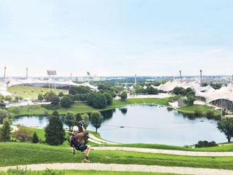 Flying Fox im Olympiapark (Foto: S&K Marketing GmbH)