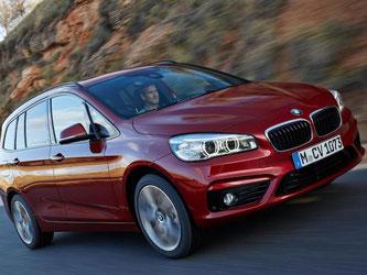 Gestreckt: Der 2er Gran Tourer von BMW ist die Langversion des Active Tourer - und bietet bis zu sieben Sitzplätze. Foto: BMW