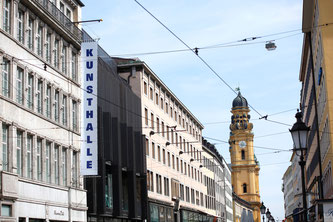 Die Kunsthalle München in der Theatinerstraße (Foto: Kunsthalle der Hypo-Kulturstiftung)