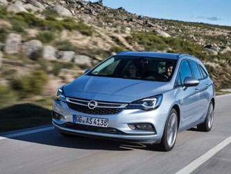 Der neue Astra Sports Tourer kommt am 9. April in den Handel. Foto: Opel