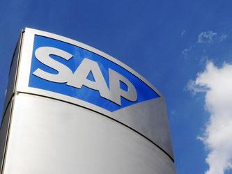 Das teuerste deutsche Unternehmen ist den Angaben zufolge aktuell SAP. Foto: Uli Deck