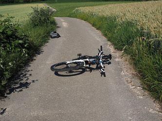 Ein Fahrradunfall mit ungeahnten Folgen (Foto: pixabay.com / Hans)