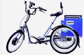 Das neu entwickelte  E-Trike der Technischen Universität München (TUM) (Foto: TUM / SWM / MVG)