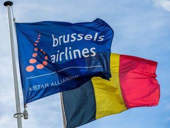 Brussels Airlines für die Billigtochter Eurowings an den Start gehen. Foto: Stephanie Lecocq