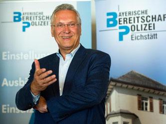Bayerns Innenminister Joachim Herrmann (CSU). Foto: Matthias Balk/dpa