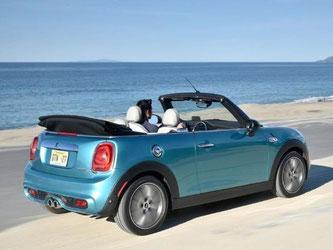 Das neue Mini Cabrio ist auf dem Markt. Foto: BMW