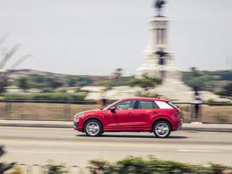 Der Audi Q2 ist nicht groß und eignet sich gut für den Stadtverkehr. Foto: Audi