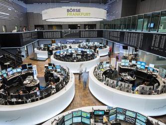 Die Deutsche Börse hat die erforderliche Mehrheit der Aktionäre, um mit der Londoner Börse zu fusionieren. Die beiden Konzerne wollen eine europäische Superbörse schmieden. Foto: Frank Rumpenhorst/Archiv