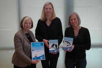 Ursula Männle, Stephanie Jacobs und Sylvia Weber (Foto: Hanns-Seidel-Stiftung)