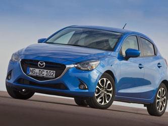Schnittig, sportlich, sparsam: Der neue Mazda2 ist ein gelungener Kleinwagen. Foto: Mazda