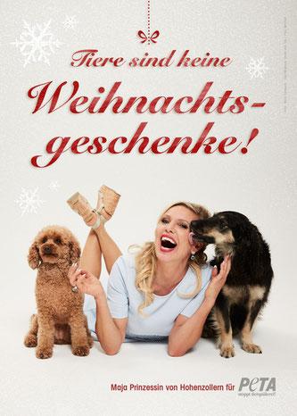 2016-11-PETA-Prinzessin-Maja, By-line     Marc Rehbeck / PETA Deutschland e.V.