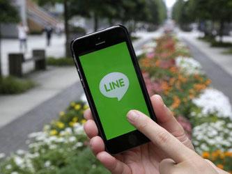 Line gehört hat nach jüngsten Zahlen rund 218 Millionen aktive Nutzer im Monat. Foto: Kimimasa Mayama