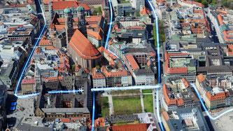 Immer mehr Münchner Stadtteile erhalten ein Glasfasernetz (Foto: M-net Telekommunikations GmbH)