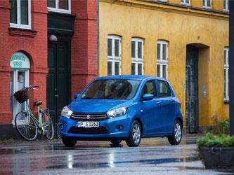 Ein neuer Kleinwagen kommt auf den Markt: der Suzuki Celerio. Foto: Suzuki