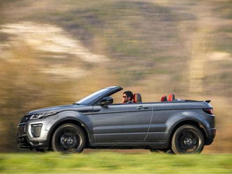 Land Rover bringt als erster Hersteller einen SUV Cabrio auf den Markt. Foto: Range Rover