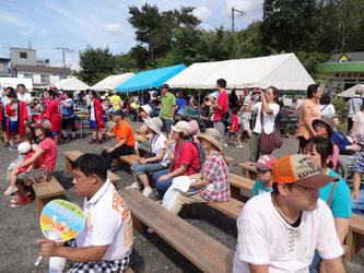 昨年の「南ヶ丘・草の実夏祭り」の様子