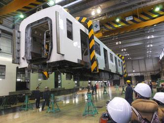 南車両基地 大人の工場見学