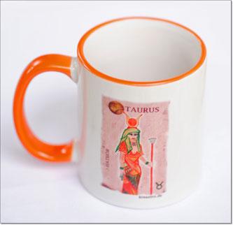 Astro-Kaffeebecher - Motiv: Taurus