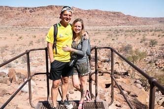 Jenny Gräfe, Duisburg, Namibia, Twyfelfontein