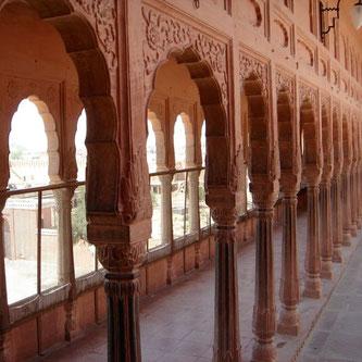 Bikaner Fort 14 Tages Rundreise Rajasthan