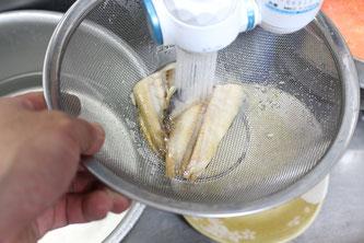 ニシン水洗い