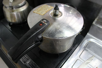 昆布巻き圧力鍋