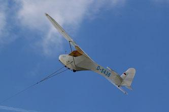 Der Doppelraab ist ein durchaus ungewöhnliches Flugzeug. (Foto: Heinz Häge)