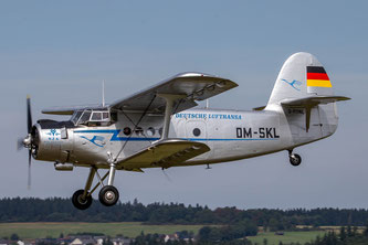 Start zu einem Rundflug mit der Antonov An-2 (Foto: Wolfgang Birmes)
