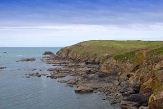 Küstenlandschaft in Cornwall. - Foto: Kathy Büscher