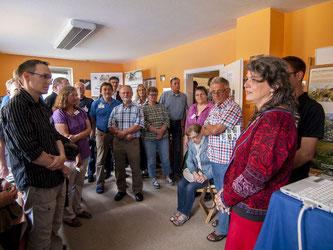 Nach einer Begrüßung von Britta Raabe war die Veranstaltung eröffnet. - Foto: Kathy Büscher
