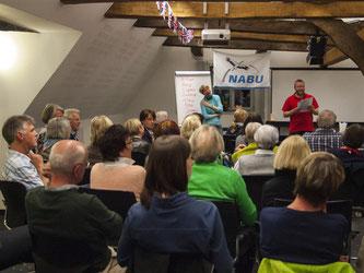 Im Prinzenhof gab es viele Infos rund m Cornwall. - Foto: Kathy Büscher