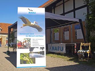 Der NABU-Stand auf Gut Remeringhausen. - Foto: Kathy Büscher