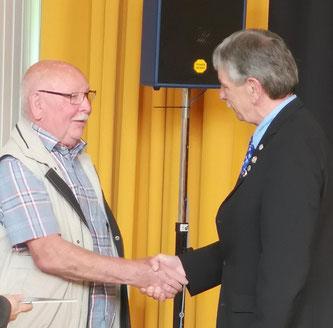 Anton Hoffmann und Jürgen Riedel