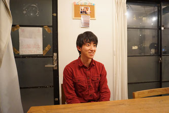 Keisuke Watanabe who serves as dormitory leader speaks to Hakumon Herald.