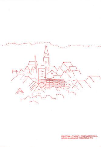 Kunst am Bau, Skizze von Henning Larsen