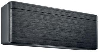 DAIKIN Stylish Blackwood - ist das flachste und platzsparendste Wandgerät auf dem Markt.