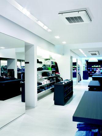 Sky Air immer die passende Lösung für Shops und Gewerberäume