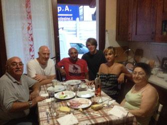 Italien Polen Russland Familie Großfamilie Spaß Aperitif