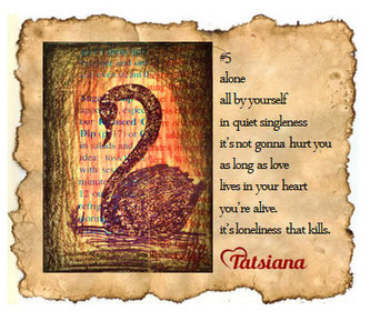 poetry tatsiana art crimson sketches 5 swan lonely