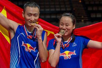Im Mixed das Maß aller Dinge: Zhang Nan und Zhao Yunlei (Bild:Bernd Bauer)