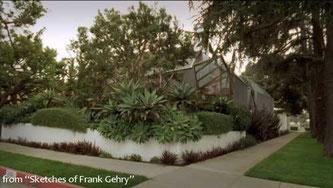 La casa di Frank Gehry - Santa Monica - vista esterna