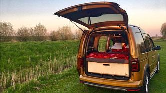 Biberbox ME Natur im VW Caddy 4
