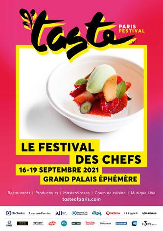 Tast of Paris 2021 du 16 au 19 septembre