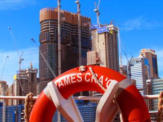 täglich wächst die Skyline von Sydney um ein Stockwerk