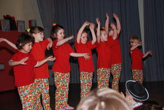 Erster Auftritt Kinderfasching 2010