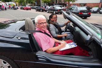 NOSW Mitglieder Anna und Peter Preußer in ihrem BMW Z1 mit der Startnummer 79