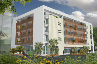 Image 3d de la résidence l'Escale construite par TPS Immobilier à Royan