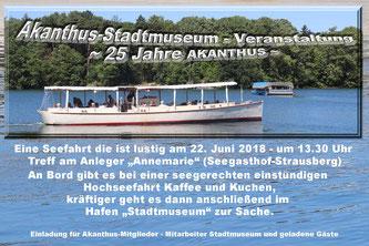 Schifffahrt - Straussee